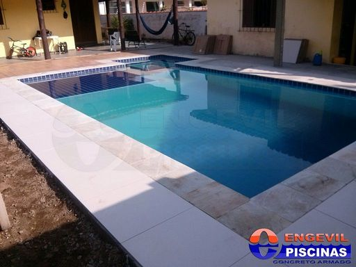 Comprar piscina de concreto engevil piscinas for Cemento cola para piscinas