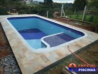 Or amento de piscina de concreto armado para pousadas for Piscinas pequenas medidas