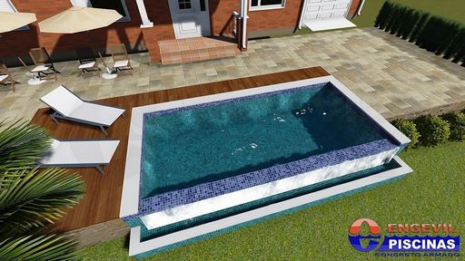 Venda de piscina sob medida engevil piscinas for Medidas de piscinas