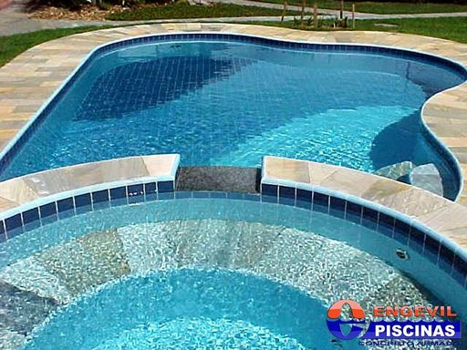 Projeto de piscina de academia engevil piscinas for Piscina infantil