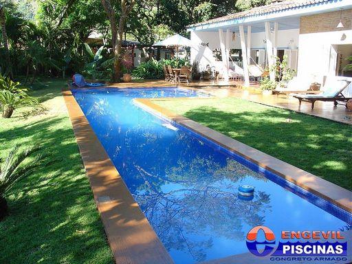 Super Piscina Olímpica Projeto Iguapé - Projeto de Piscina com Raia  SW98