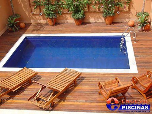 Piscina redonda de fibra com hidro em santa isabel piscinas com deck de madeira engevil piscinas - Piscina redonda fibra ...