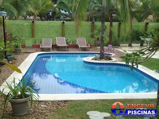 Venda de piscina residencial engevil piscinas for Alberca residencial