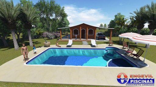 Piscinas de concreto personalizadas pre o em s o carlos for Precio de piscinas de cemento