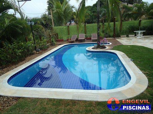 Projetos de jardins com piscinas v rias - Piscinas para casas ...