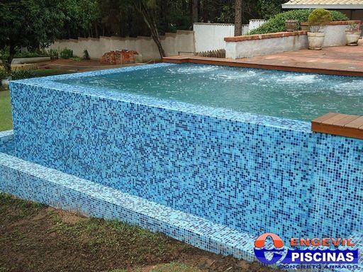 Quanto Custa uma Piscina de Alvenaria em Itatiba - Piscina de Alvenaria com Deck