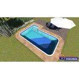 comprar piscina sob medida preço em Mongaguá