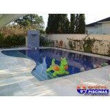 construção de piscina de alvenaria preço Jardim Itapoan