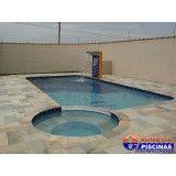 construção de piscina residencial preço Santo Antônio