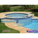 construção de piscinas de concreto armado Maia