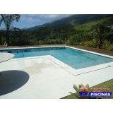 construção de piscinas residenciais Nova Gerty