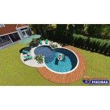empresa de piscina personalizada em são paulo preço Água Chata
