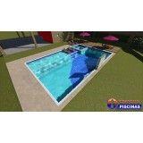 empresas de piscina sob medida Bairro Silveira