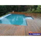 estrutura de piscina de concreto armado Vila Carrão