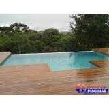 estruturas de piscinas de concreto armado em Santo André