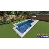 instalação piscina sob medida