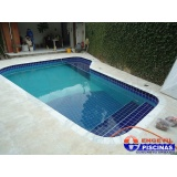 manutenção de piscina de alvenaria com azulejo Americana