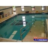 manutenção de piscina de alvenaria suspensa Condomínio Maracanã