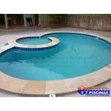 manutenção de piscina de concreto preço Bairro Silveira