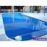 manutenção em piscina de alvenaria São José