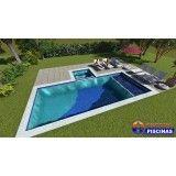 onde encontrar construção de piscina customizada Prosperidade