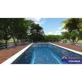 onde encontrar empresa de piscina sob medida Jardim Aracília