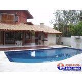 onde encontrar piscinas com deck de madeira em São Carlos