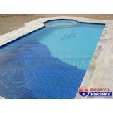 orçamento de piscina de concreto armado para casas Condomínio Maracanã