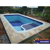 orçamento de piscina de concreto armado para pousadas Casa Verde