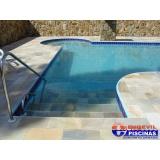 orçamento de piscina de concreto armado suspensa Itapegica