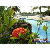 piscina cascata Bairro Casa Branca