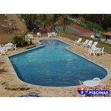piscina com cascata quanto custa em Santo Amaro