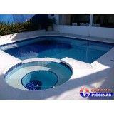 piscina com deck preço em São José dos Campos