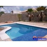 piscina com hidro quadrada Jardim Veloso