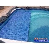piscina com hidro redonda no Brooklin