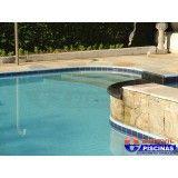 piscina de academia preço Vila Municipal