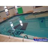 piscina de alvenaria 3x5 sob medida Americana