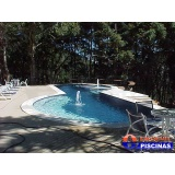 piscina de alvenaria com azulejo preço Lorena;