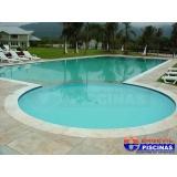 piscina de alvenaria com escada preço Jardim Ciprestes