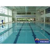 piscina de alvenaria elevada preço Olímpico