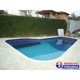 piscina de alvenaria em quintal pequeno preço Porto Feliz