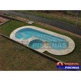piscina de alvenaria pequena preço m2 Jardim Ciprestes