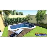 piscina de alvenaria personalizada preço Bairro Santa Maria
