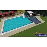 piscina de alvenaria personalizada em Cajamar