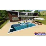piscina de alvenaria sob medida preço Jardim Guilhermina