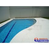 piscina de alvenaria suspensa preço Santo Amaro