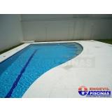piscina de alvenaria suspensa preço Bairro Silveira