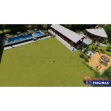 piscina de azulejo com vazamento Cata Preta