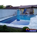 piscina de concreto armado para casas preço Cerâmica