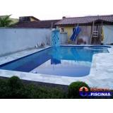 piscina de concreto armado para casas preço na Santa Maria